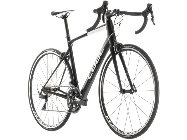 61c4270a554 Cube Attain GTC Race Road Bike black at Bikester.co.uk